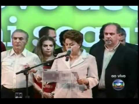 Pronunciamento de Dilma - 2ª parte