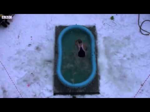 Recorde de salto na piscina rasa