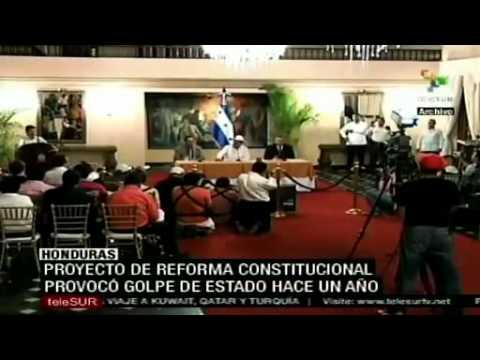 Congreso de Honduras aprueba reforma constitucional