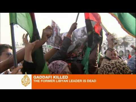 Gaddafi's final moments