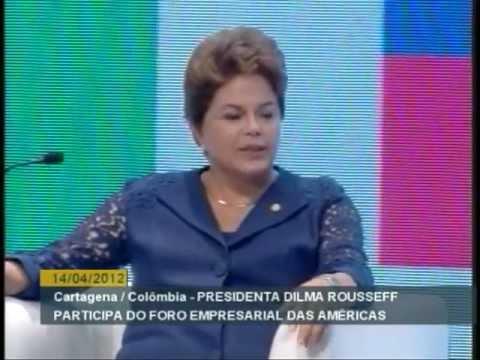 Showww discurso de Dilma na Colombia