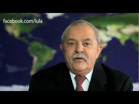Lula apresenta sua página no Facebook #lulanoface