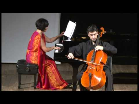 Popper: Polonaise de Concert for cello and piano - Davi Barreto