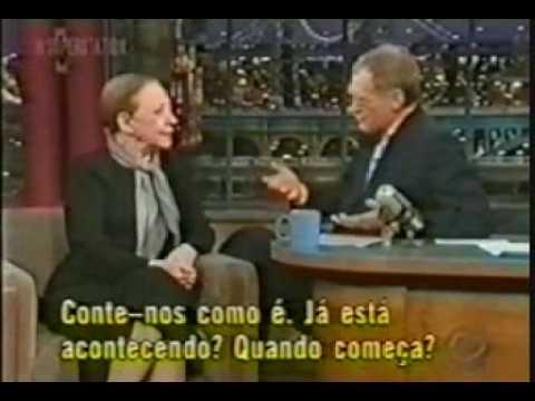 FERNANDA MONTENEGRO - DAVID LETTERMAN - CENTRAL DO BRASIL