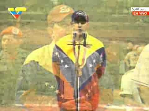 Campeón Pastor Maldonado frente al presidente Chávez: ¡Estamos venciendo!