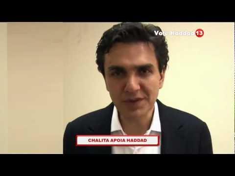 Eleições 2012 - Gabriel Chalita declara apoio ao Fernando Haddad 13!