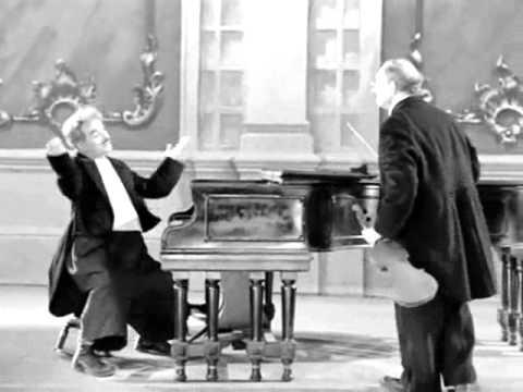 PIANO E VIOLINO. Um árduo duo