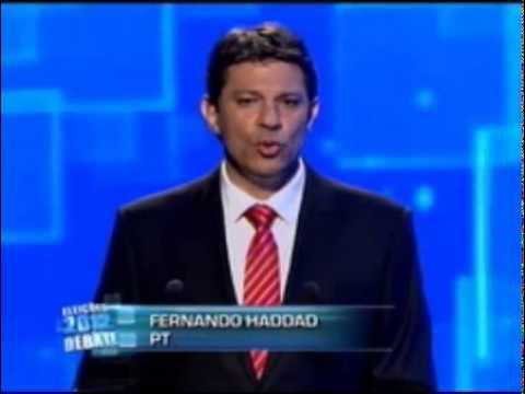 Eleições 2012 - Debate BAND SP 18/10/2012 (Parte 3) 2° Turno