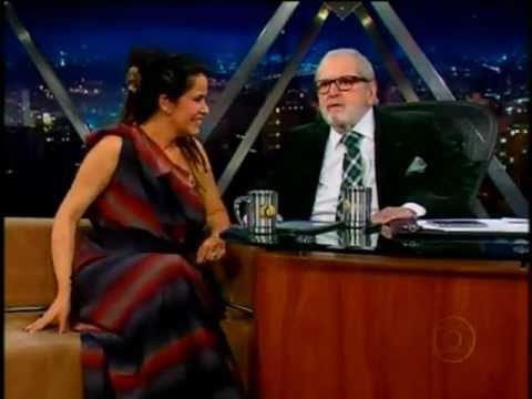 Jô Soares entrevista Glaucia Nasser - Parte 2/2