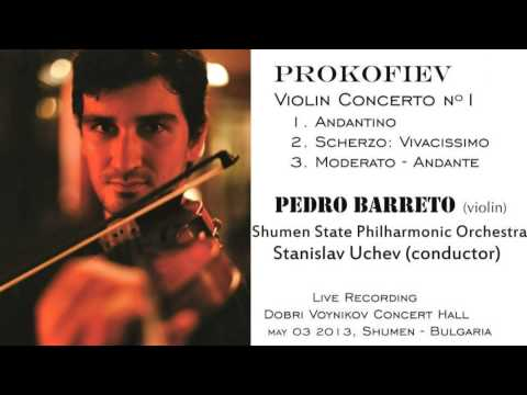 Prokofiev: Violin Concerto nº 1 - Pedro Barreto