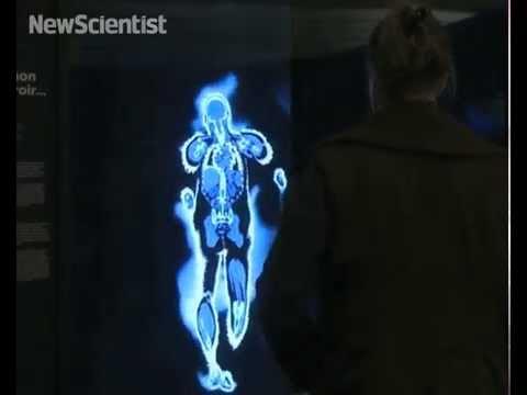 Um espelho que mostra o interior do corpo humano?