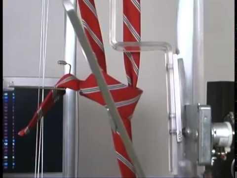 Uma máquina de dar nó em gravata