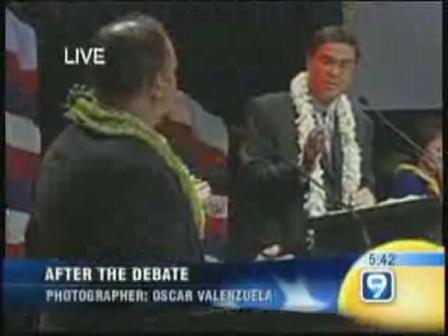 Dan Boylan give Panos the nod in the debate