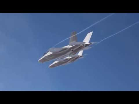 IAF Pilots Fly F-35 Over Israel For the First Time