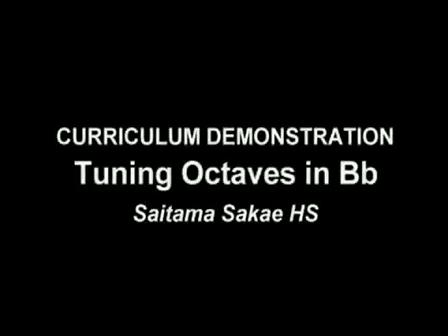Octave Tuning procedure