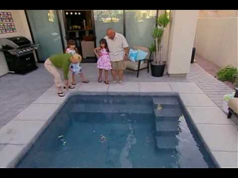 Viking Pools on Extreme Makeover: Home Edition - Cerda Family