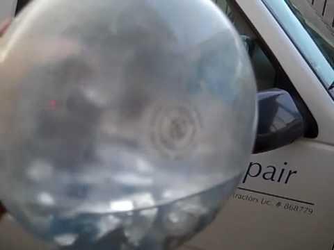 Water in Pool Light Bulb