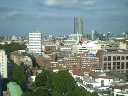 View from Great Arthur House