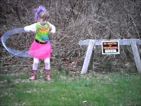 Farm Girl Hula Hoop Video 2011