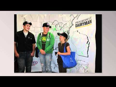 WDE11 Progressive Dairyman Proud to Dairy Map