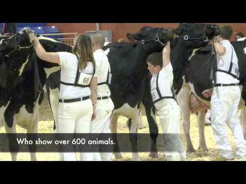 2011 Penn State Dairy Science Holstein World Contest Video