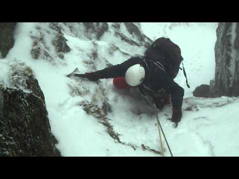 Keith on the crux