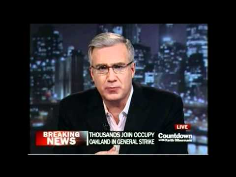 Countdown with Keith Olbermann | Occupy Tulsa Defeats Pepper Spray