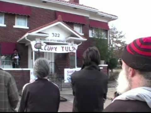 Tulsa Peace Fellowship and Occupy Tulsa Work Together