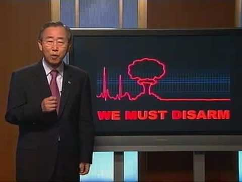We Must Disarm! WMD arsenals are not only dangerous, and wasteful, they are also futile