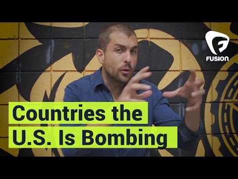 How Many Countries is the U.S. Currently Bombing?
