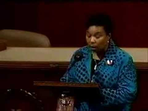 Barbara Lee's 9/14/01 Speech