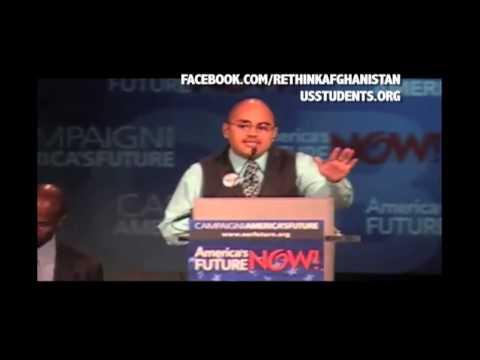 USSA President Gregory Cendana on War Funds vs. Education