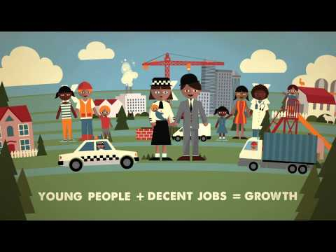 Let's invest to get young people into decent jobs!