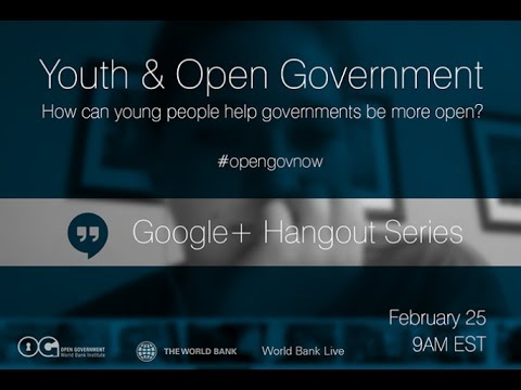 Youth and Open Government