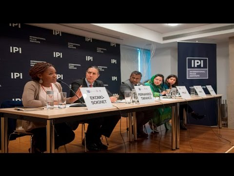 Panel on Youth, Peace & Security & UNSCR2250