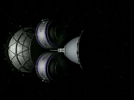 Daedalus second stage flyby