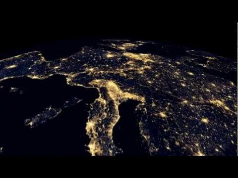 First attempt at a full 'Earth At Night' video