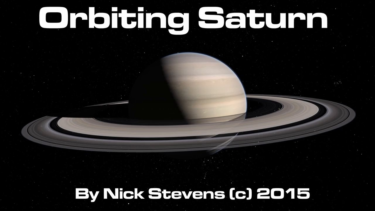 Orbiting Saturn