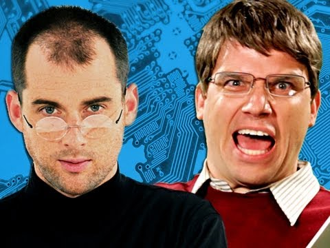 La bataille d'Epic Rap entre Bill (Gates) et Steve (Jobs)