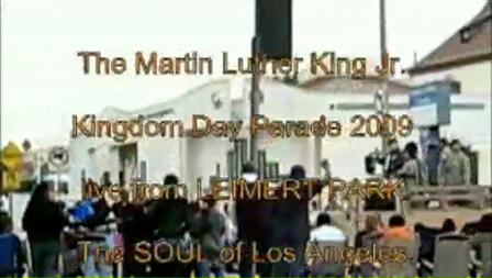 MLK 2009 parade - The MOVIE