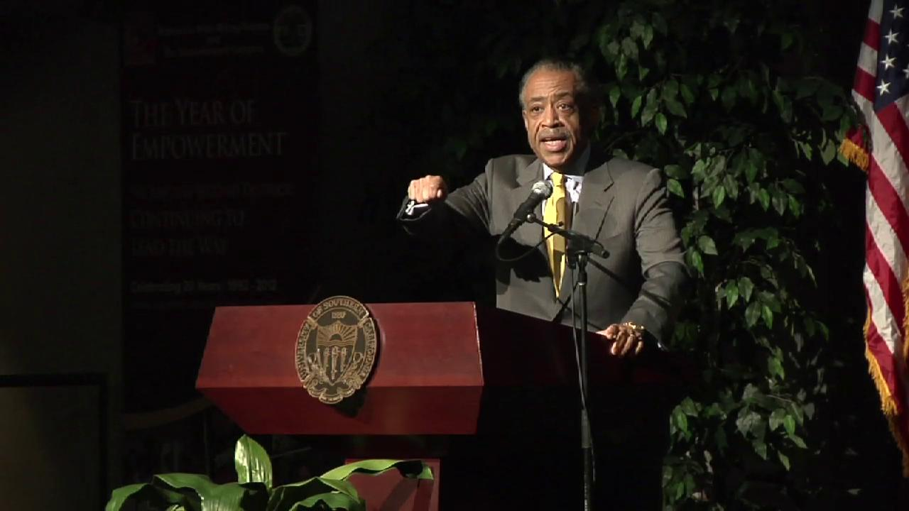 Reverend Al Sharpton at 20th Anniversary Empowerment Congress Summit