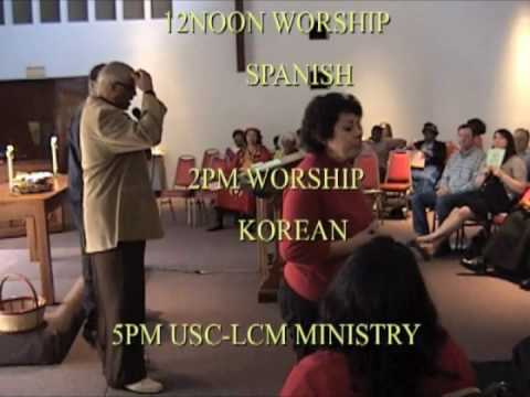 ST MARKS LUTHERAN CHURCH in Los Angeles  JOIN US