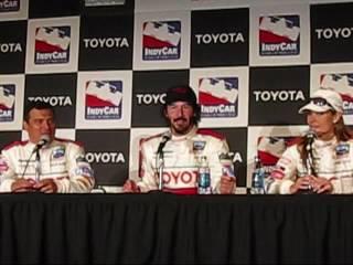 Celebrity Winner of the Toyota Pro/Celebrity Race Of Long Beach - Keanu Reeves on how he won!