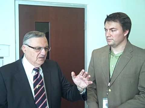 WND interviews Sheriff Joe about the Cold-Case Posse and Obama's Birth Certificate