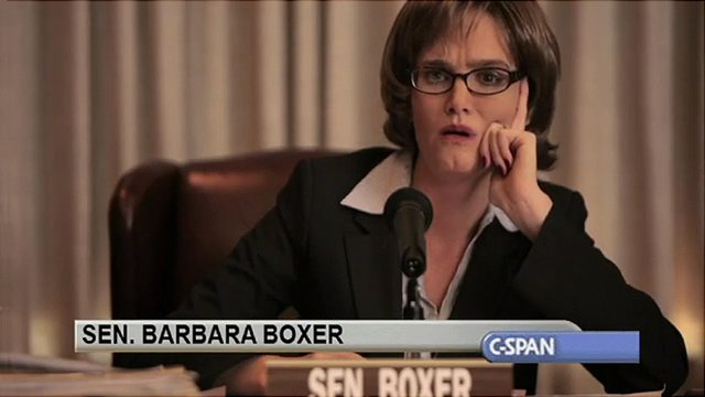 Call Me Senator - Ms. Boxer.. .I mean Senator...