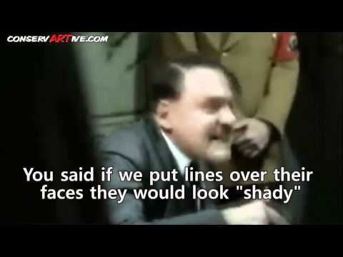 HYSTERICALLY FUNNY! Hitler Discovers ATTACKWATCH is a Joke!