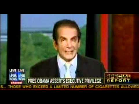 "Krauthammer On Eric Holder Contempt: ""Mainstream Media Can No Longer Ignore Fast And Furious"""