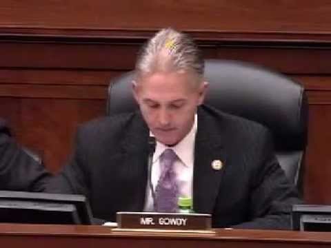 Rep. Trey Gowdy Explodes At Libya Hearing: 'I Want To Know Why We Were Lied To'