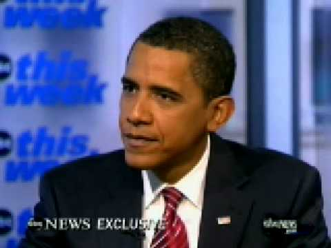 ABC This Week:Obama tells Stephanopoulos everyone must sacrifice