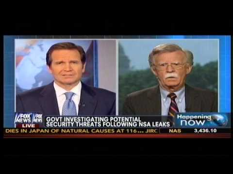 """John Bolton on NSA Leaker Edward Snowden: """"I'm Not at All Sure He's Acting Alone Here"""""""